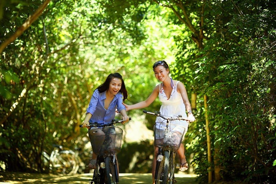 Bicicletas de paseo con cesta