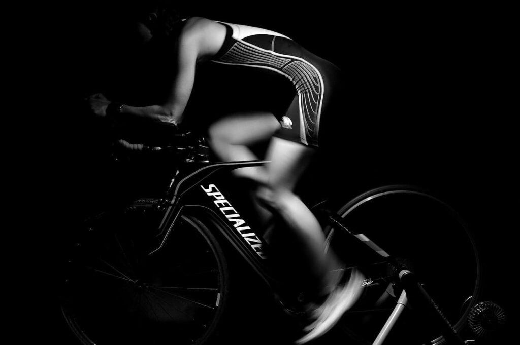 Rodillo para bicicleta negro