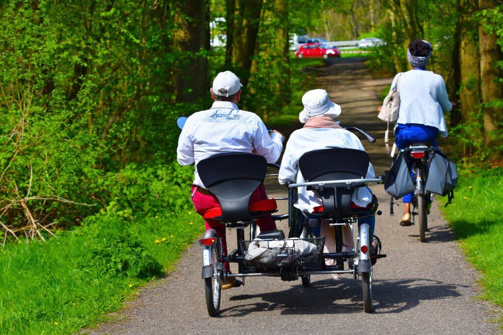 Triciclo para adultos mayores