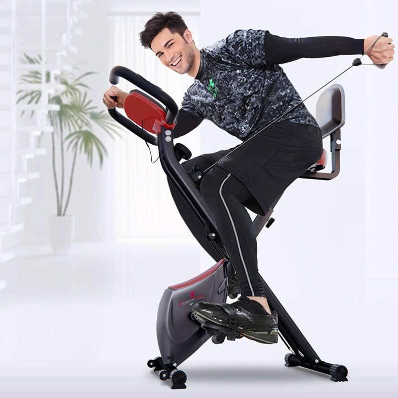 Bicicleta estática plegable Sportstech